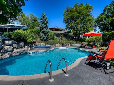 Photo for Niagara Riverfront Executive Home with Inground Pool and Skyline Views