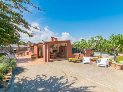 Photo for CAN CALAFAT - Villa with private pool in Can Picafort.