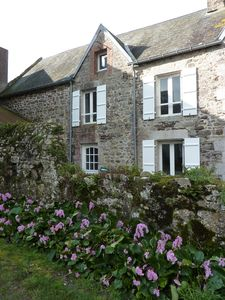 Photo for Country stone house near the harbor of Regnéville sur mer