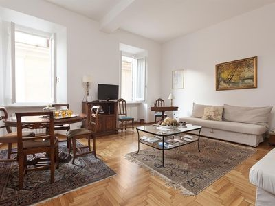 Photo for Apartment in the center of Rome with Air conditioning, Lift, Terrace, Washing machine (639257)