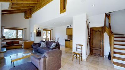 Photo for Quiet, spacious and bright 3 ½-room apartment on two storeys on the 3rd floor, c