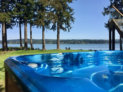 Photo for Spectacular Waterfront home close to Courtenay and Comox