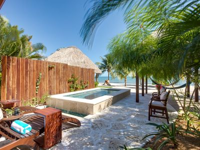Photo for Turtle Villa | Romantic Getaway on the Beach | Newly Renovated | Private Pool