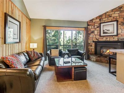 Photo for Private, one bedroom condo in Bend w/Loft and gas fireplace