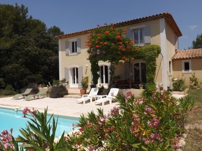 Photo for Near Aix en Provence Magnificent Provencal house with private pool and free WiFi