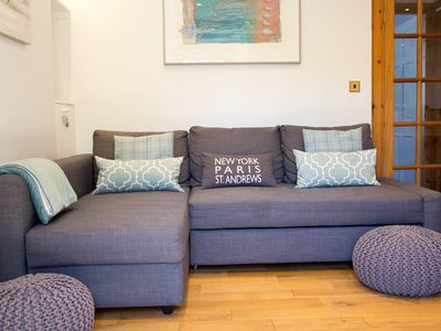 Photo for Boutique apartment in the Heart of St Andrews - 1 bed, central, quiet.