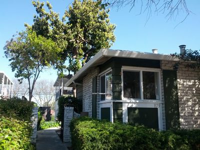 Photo for 2BR w. Parking, Washer&Dryer, Walk to Everything, near Apple Spaceship Campus