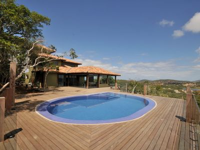 Photo for Privileged view, pool and very comfort! Next to Rua das Pedras.