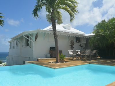 Photo for Creole charm 180 ° sea view, 6 to 10 people, infinity pool