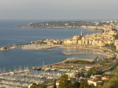 Photo for Spectacular View-Quiet- Access to Italian and French Rivieras