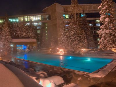 Photo for Cliff Lodge Pinnacle unit 1 bedroom and kitchen condo snowbird ski in ski out