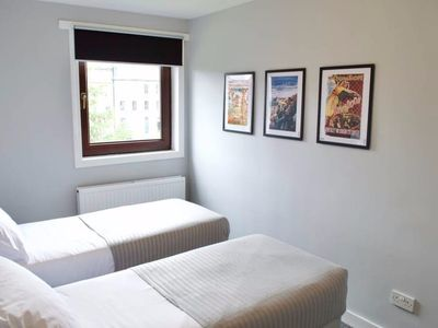 Photo for 3 Bedroom Flat With Free Parking Sleeps 6