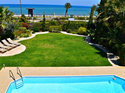 Photo for Latchi Beachfront Villa - Amazing Sea Views - Private Pool - Wifi
