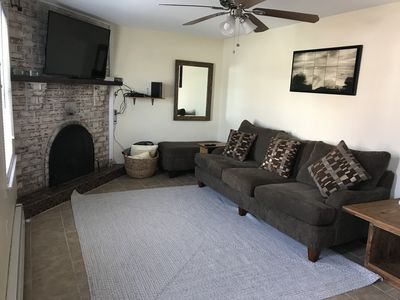 Photo for Beach block 2 bedroom town house...Beach tags included