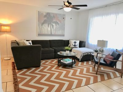 Photo for NEW! Stylish Beach Cottage 3 BEDROOM home! Steps to FL Intracoastal!