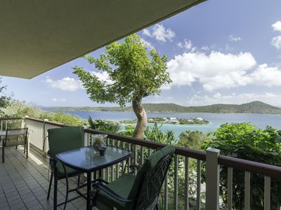 Photo for Hilltop views, wrap around balcony. Lower $ available for longer stays. E15