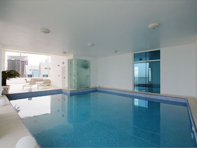 Photo for 7 star penthouse with private pool in prime location in Dubai Marina