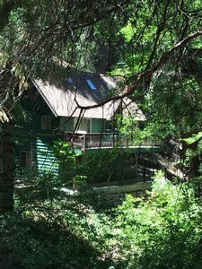Photo for Lake Arrowhead Moose Lodge, a short walk the the Village and Private Beach.