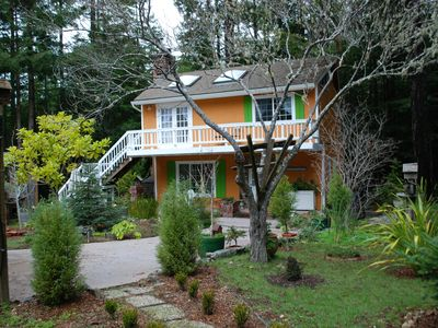 Photo for Romantic Mendocino Garden Cottage - 4 Minutes from the Ocean