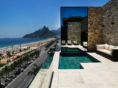 Photo for Rio055 - Fantastic penthouse with ocean view