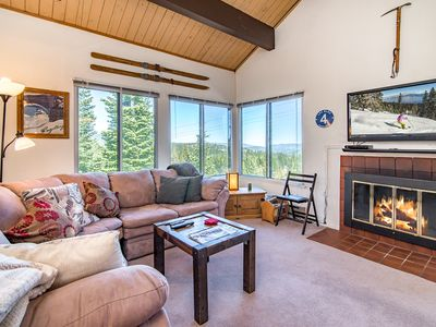 Photo for Ski-In/Ski-Out 3BR Condo w/ Loft – Access to Tahoe Donner 5-Star Amenities