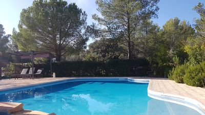 Photo for Villa 220m², swimming pool / jacuzzi 20 minutes from the beaches
