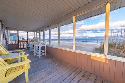 View From the Covered Deck - Private home w/ 3 bedrooms