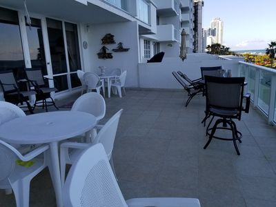 Photo for Lovely Oceanfront Condo *  Spectacular Ocean View * 600 Sq.Ft. Terrace