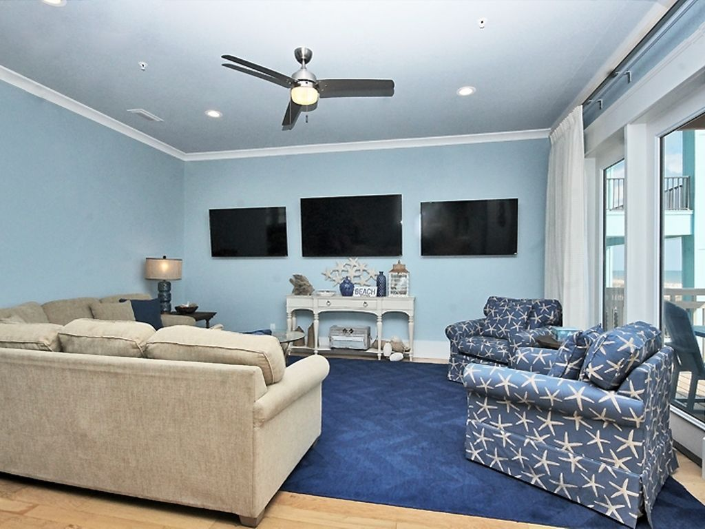 Stunning 8 br beach house with heated pool elevator in a for 9 bedroom beach house rental