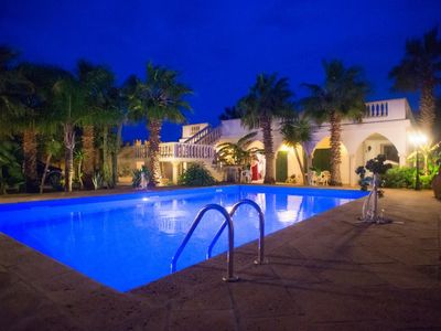 Photo for Michelle House, villa with swimming pool just a few steps from the sea