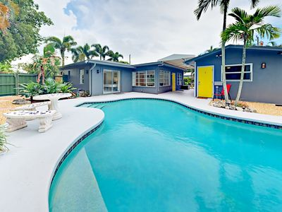 Photo for Walk to Wilton Manors Eateries! 2BR Triplex w/ Pool - 4.5 Miles to Beach