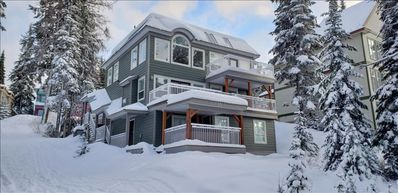 Photo for 3 Storey, 6 Bedroom, 5 Bthrm, 2 Kitchens, Ski in/Ski out Multi-Family Mountain H