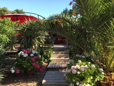 """Photo for CAP FERRET """"44 hectares"""" Villa of charm spirit cabin near center and beaches"""