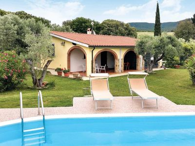 Photo for 2 bedroom Villa, sleeps 4 in Bibbona with Pool, Air Con and WiFi
