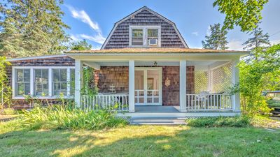 Photo for NEW LISTING: Delightful Living, 2-Story Traditional Home, Private Acre, Lots of Charm, Close to Southampton Village!