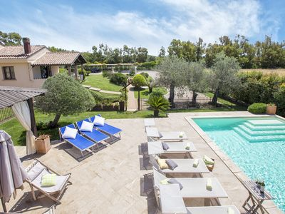 Photo for In Alghero Splendid Villa Mariposa, with swimming pool, for 12/14 people