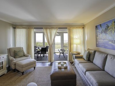 Photo for Oceanfront condo in Wild Dunes w/ community pool, boardwalk & screened porch!