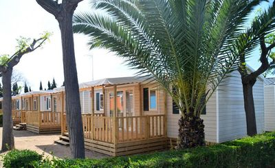 Photo for Camping Mer et Camargue **** - 4-room mobile home 6/7 people
