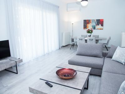 Photo for Minimal 3 bedroom apartment in Glyfada