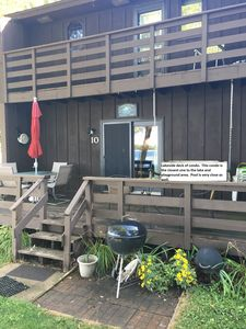 Photo for Lakeshore Condominium Cabin on Clearwater Lake