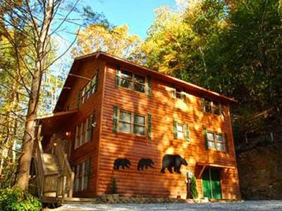 Bear Britches Lodge - 7 Bedroom cabin
