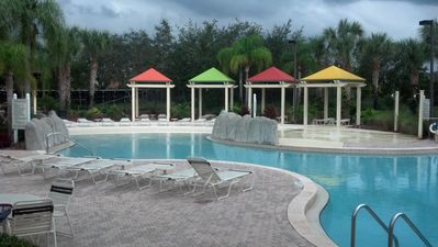 Photo for 14-206 Legacy Dunes Resort, 4 miles from Disney, relax and recharge, heated pool