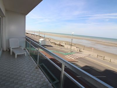 Photo for Beachfront apartment, 2 bedrooms, for 6 people in HARDELOT BEACH.