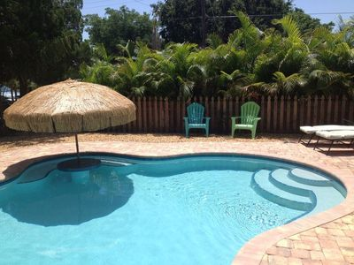 Photo for Island Living, refreshing outdoor shower and  pool , new kitchen , pet friendly