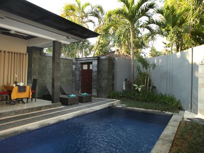 Photo for 1 bedroom pool villa close to beach
