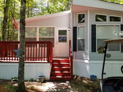 Photo for Point Sebago Cottage Central AC  2 bed/1.5 bath