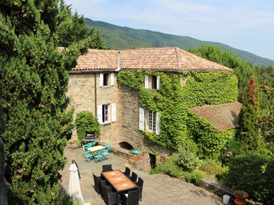 Photo for Cottage on the border between Ardèche and Cévennes for 4-10 people