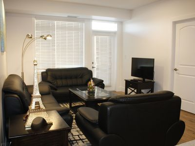 Photo for Chic Condo 2BD2BR w/Heated Garage near Shaw Center