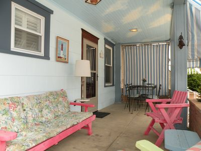 Photo for BEACH BLOCK Family Vacations LUXE Comfort, Memories,Great Porch,Spotless Save $$