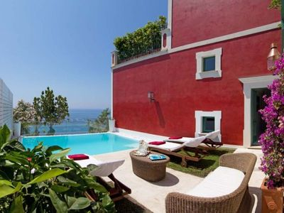 Photo for 5 bedroom Villa, sleeps 10 in Praiano with Pool, Air Con and WiFi